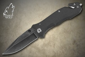 TW391 Timber Wolf Stonewashed Tactical Knife